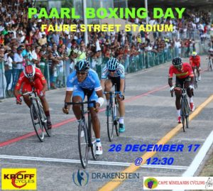 Paarl Boxing Day Track Event @ Faure Street Sadium | Paarl | Western Cape | South Africa