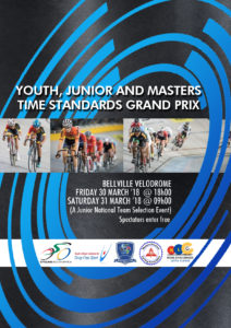 Youth, Junior and Masters Time Standards Grand Prix 2018 @ Bellville Velodrome | Cape Town | Western Cape | South Africa