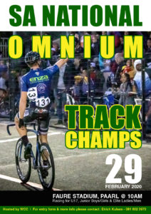 SA National Omnium Championships 2020 @ Faure stadium, Paarl | Paarl | Western Cape | South Africa